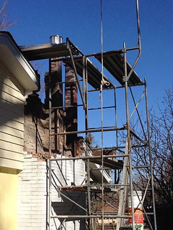 Chimney Flashing Chimney Liner Installation Chimney